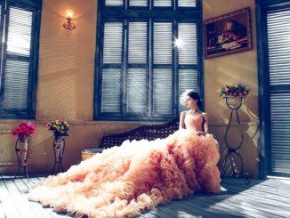Moderní svatební šaty